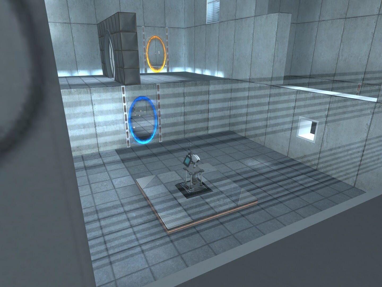 Gameplay Screenshot from Portal