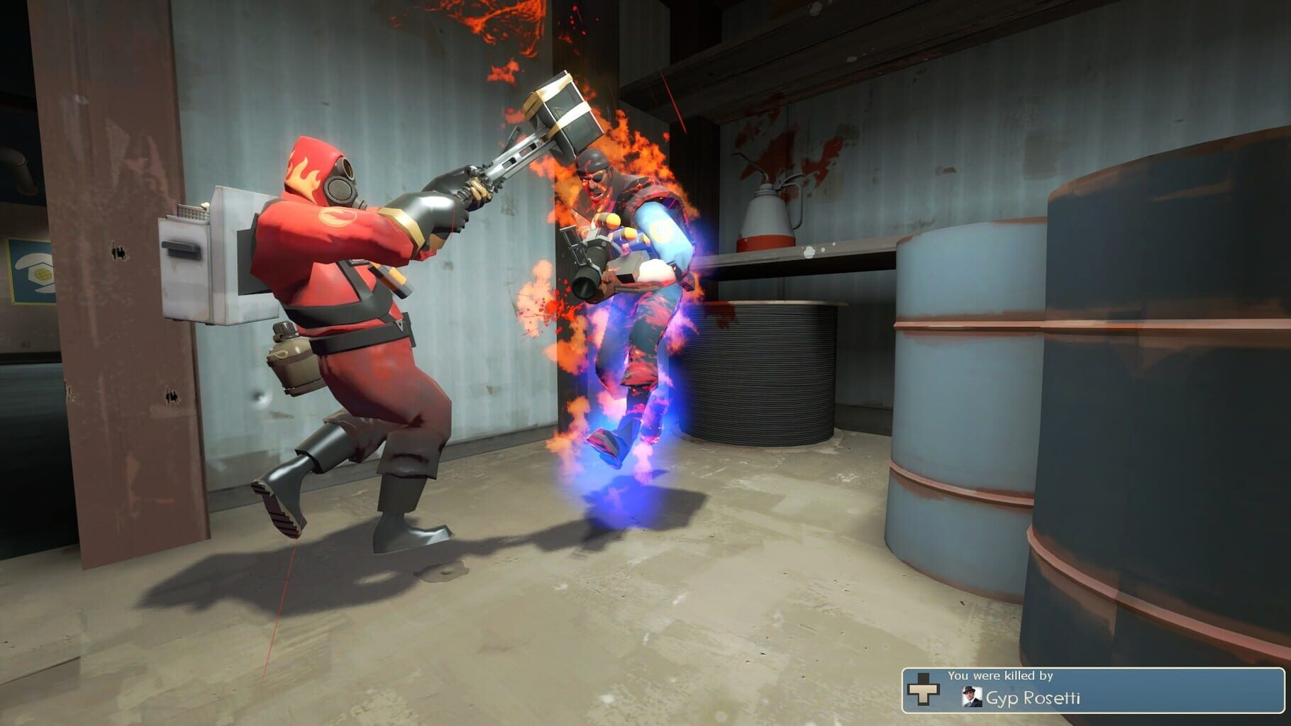 Gameplay Screenshot from Team Fortress 2