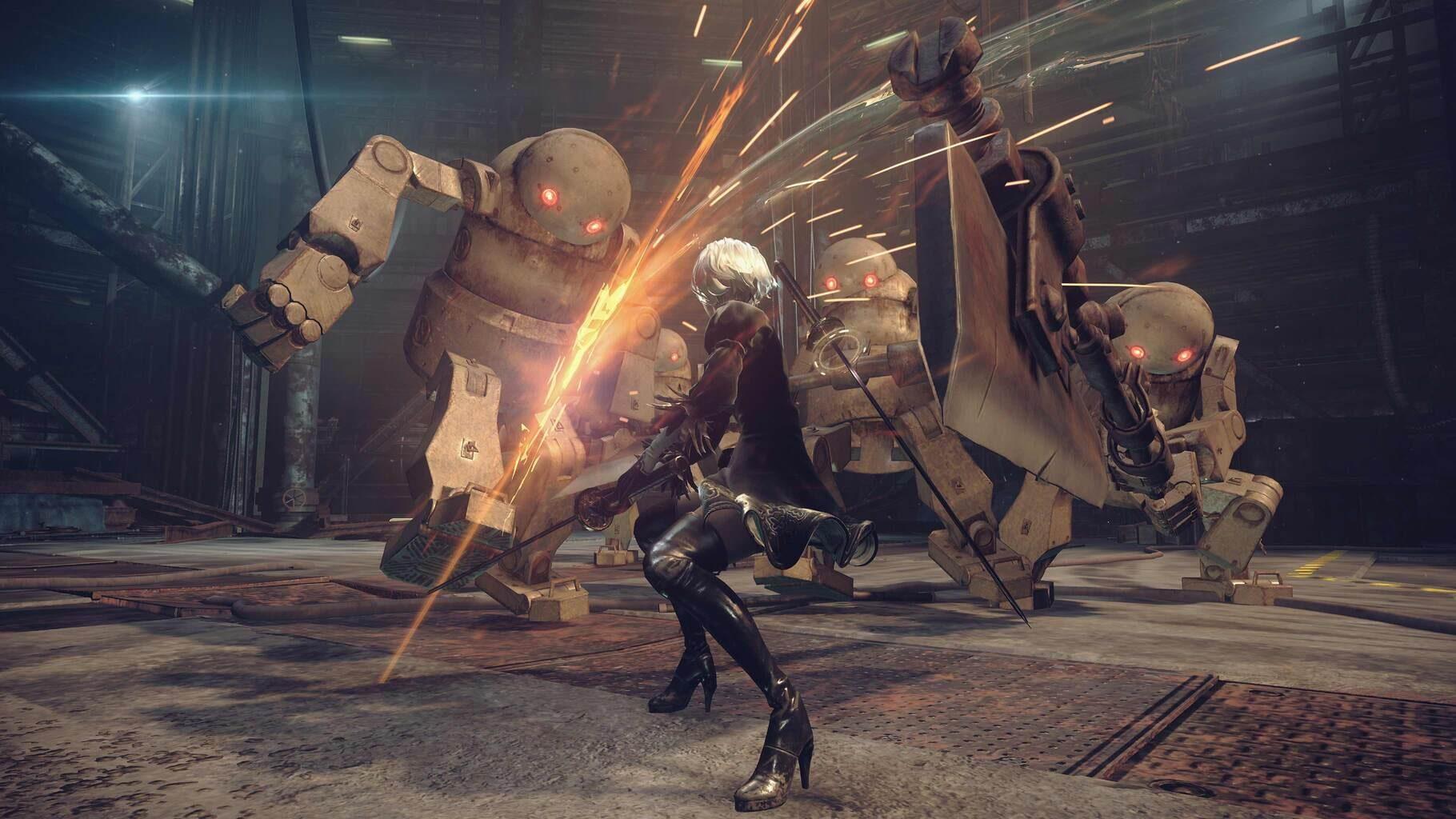 Gameplay Screenshot from NieR: Automata