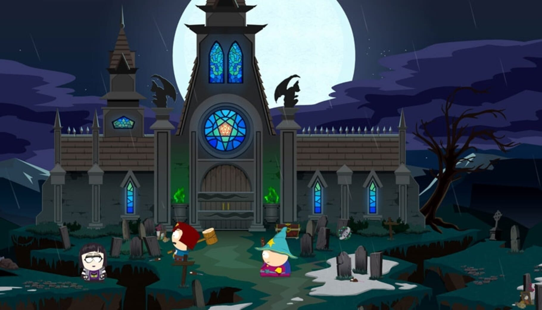 Gameplay Screenshot from South Park: The Stick of Truth