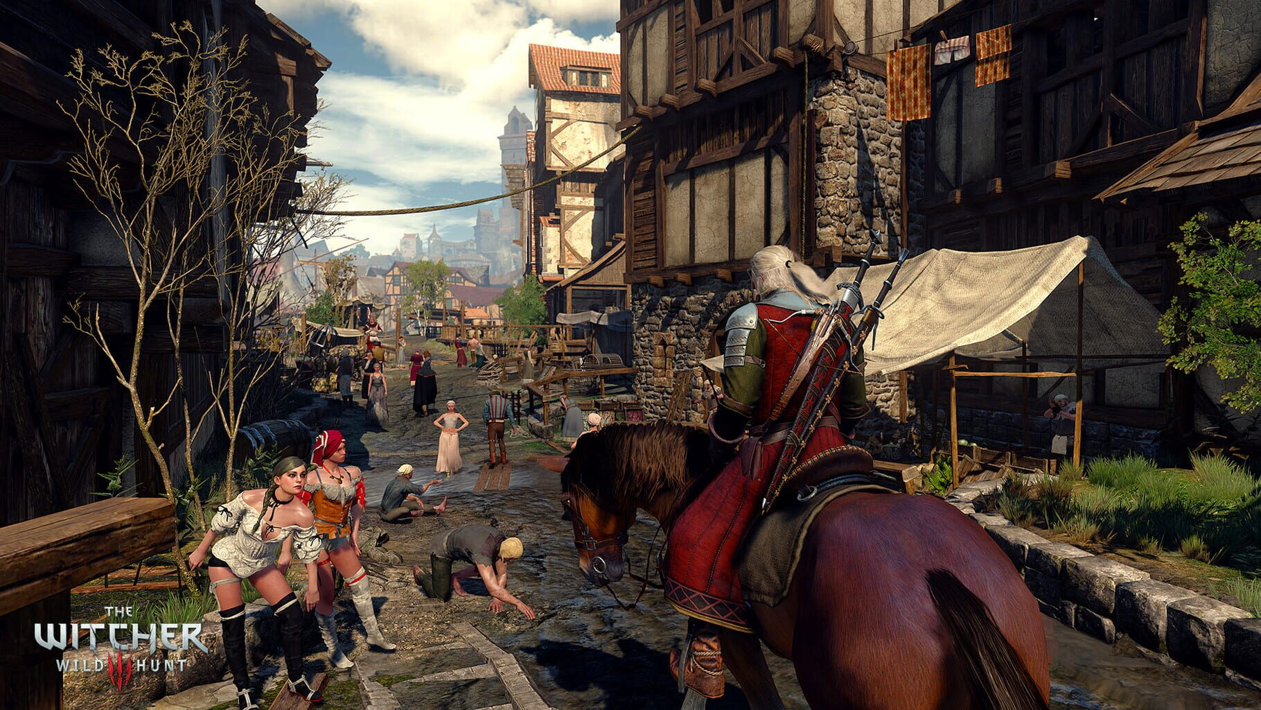 Gameplay Screenshot from The Witcher 3: Wild Hunt