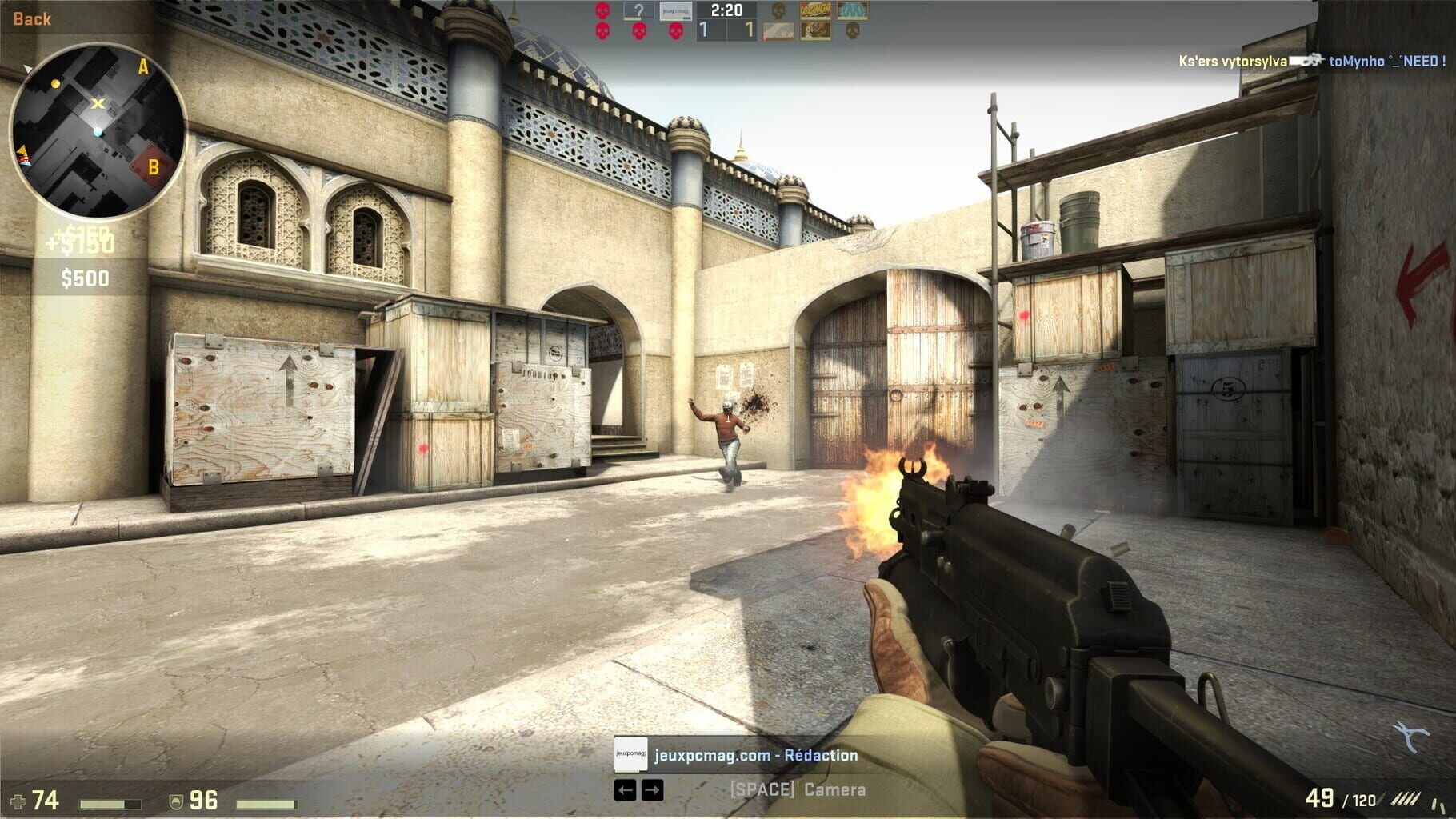 Gameplay Screenshot from Counter-Strike: Global Offensive