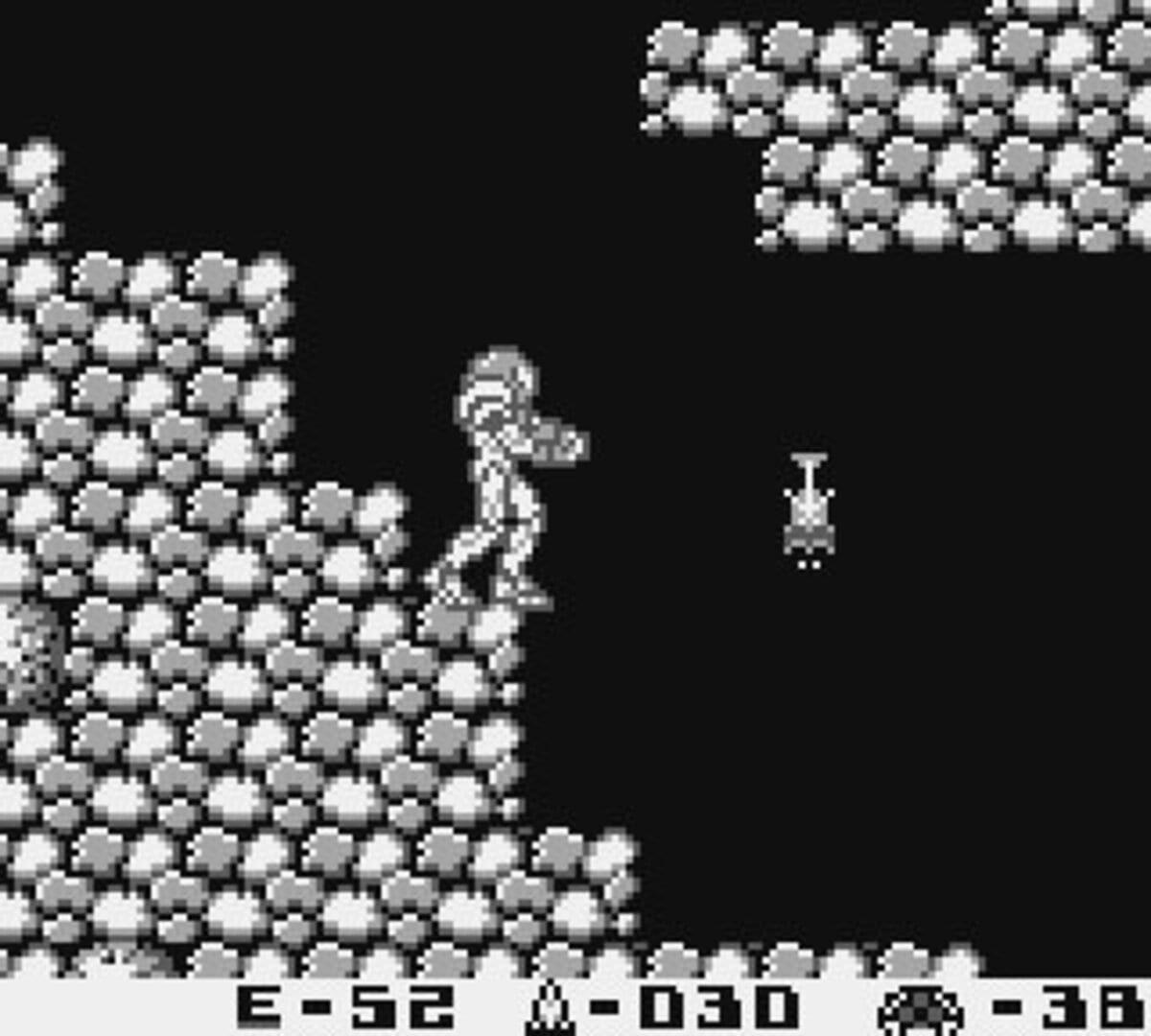 Gameplay Screenshot from Metroid II: Return of Samus