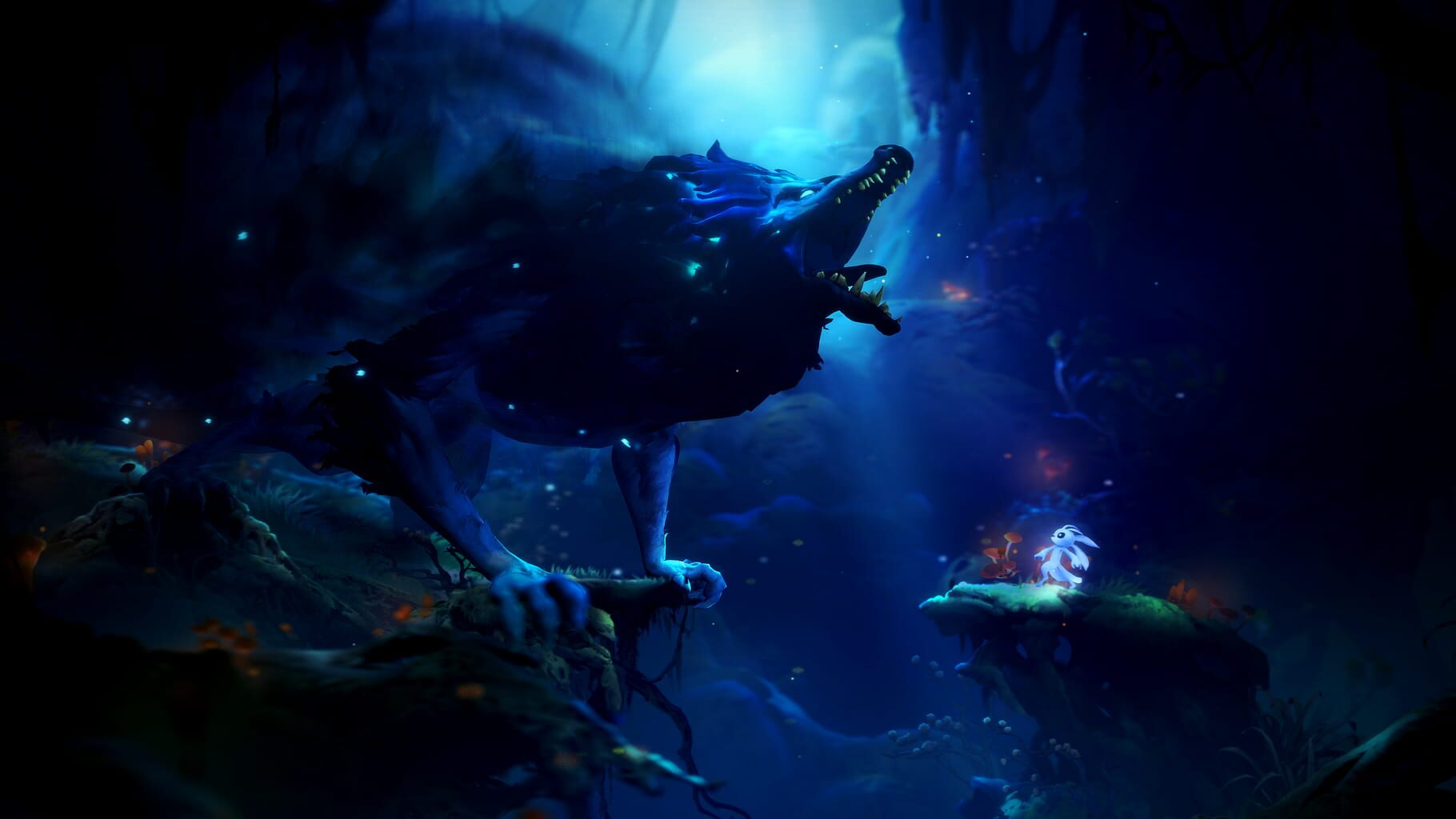 Gameplay Screenshot from Ori and the Will of the Wisps
