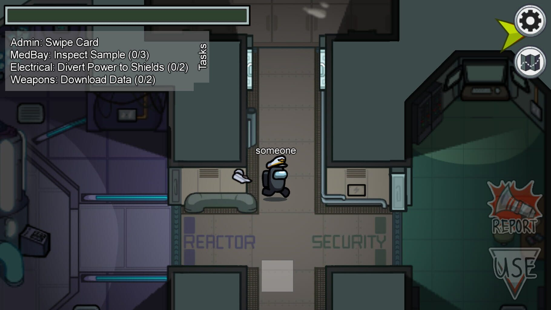 Gameplay Screenshot from Among Us