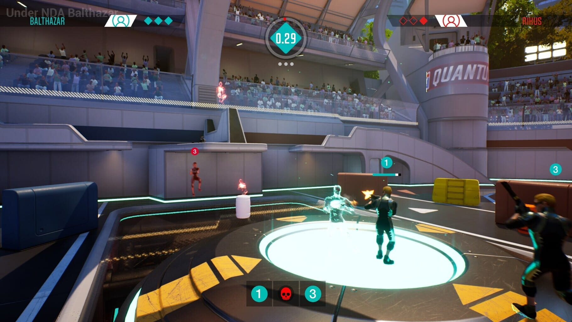 Gameplay Screenshot from Quantum League