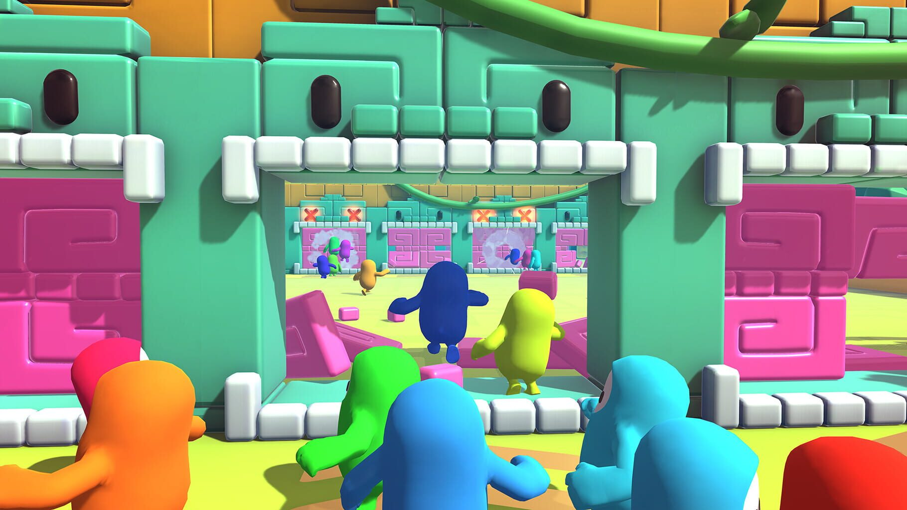Gameplay Screenshot from Fall Guys: Ultimate Knockout