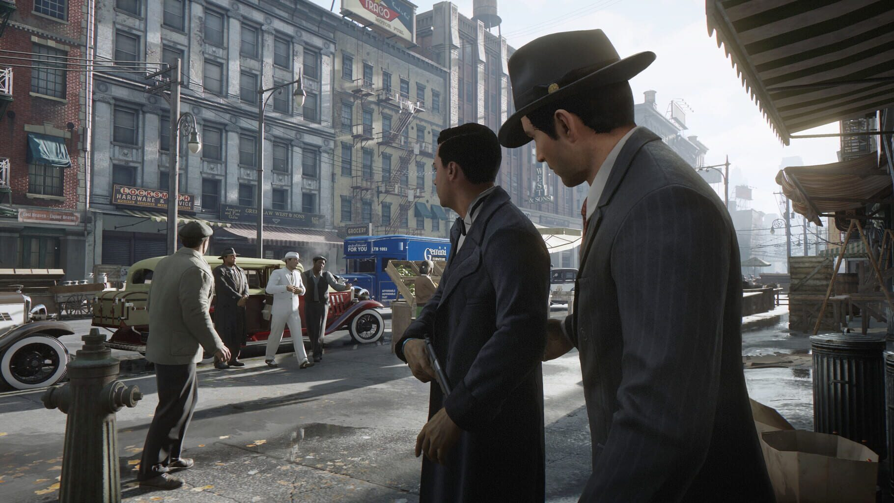 Gameplay Screenshot from Mafia: Definitive Edition
