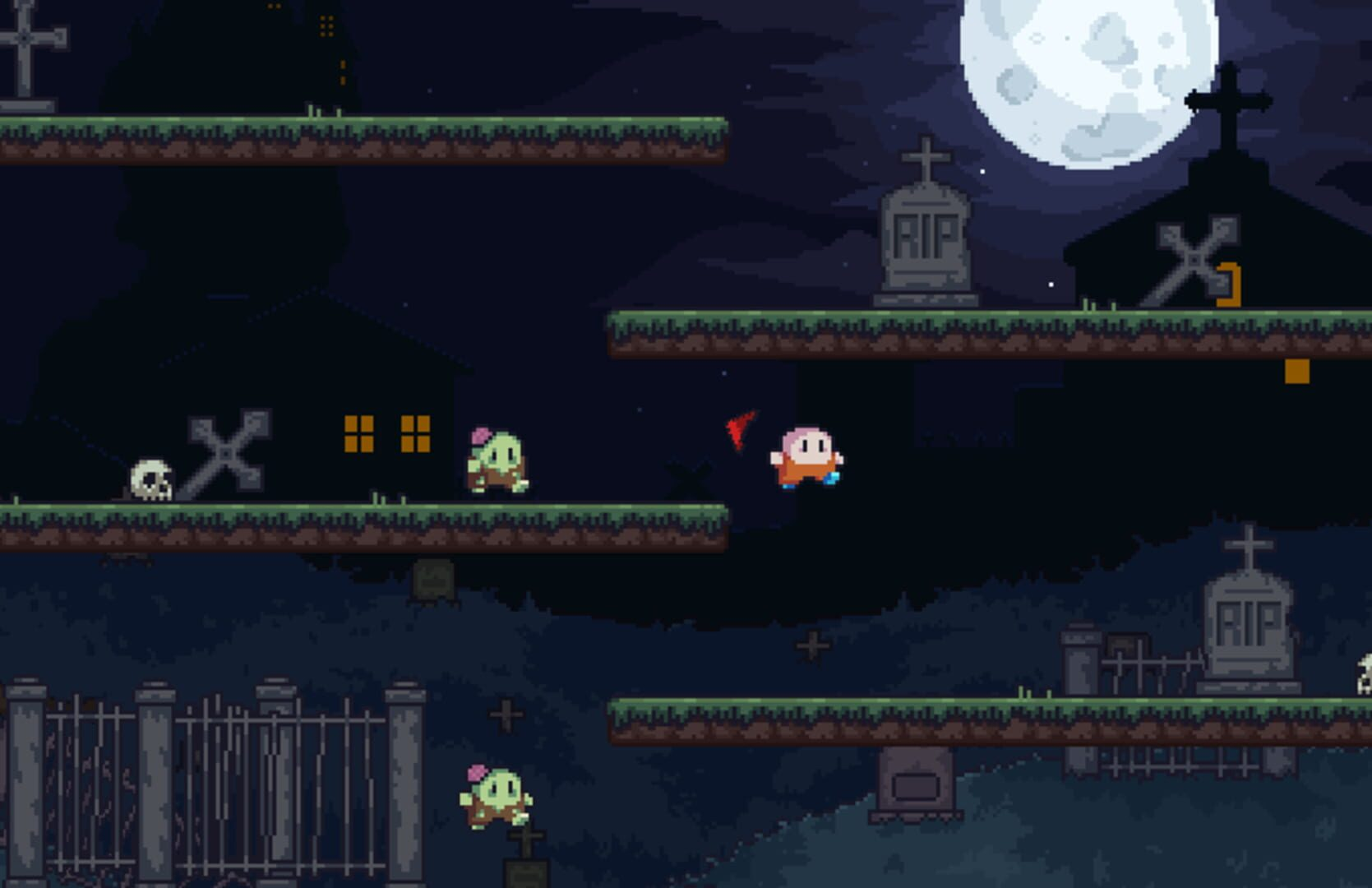 Gameplay Screenshot from Spooky Chase
