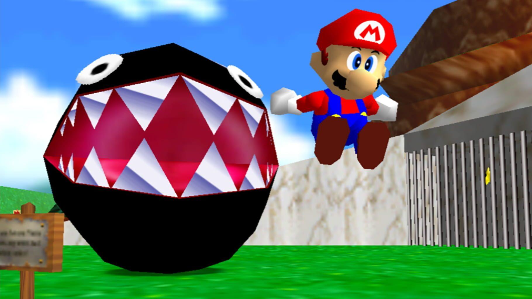 Gameplay Screenshot from Super Mario 3D All-Stars