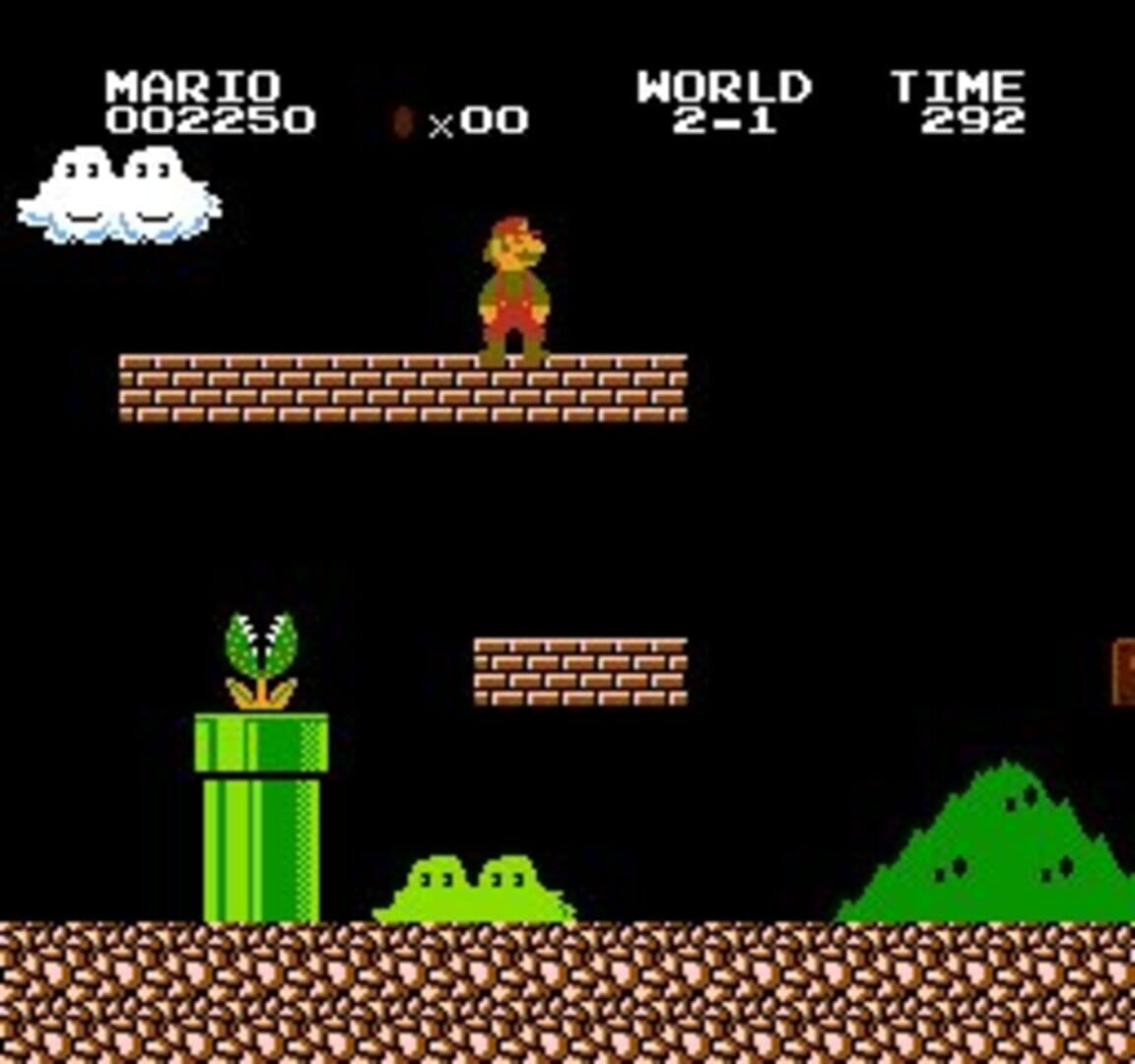 Gameplay Screenshot from Super Mario Bros.: The Lost Levels