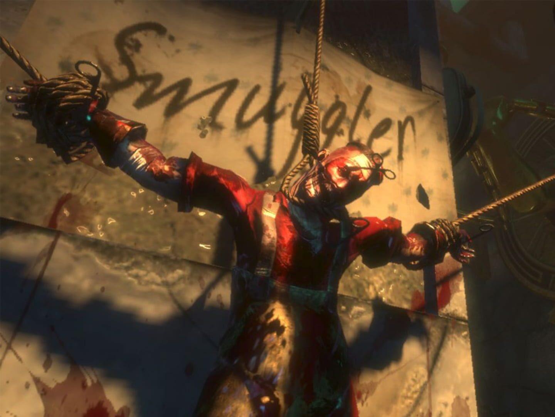 Gameplay Screenshot from BioShock