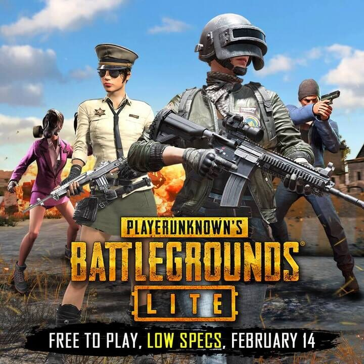 PUBG Lite Free Download PC Install