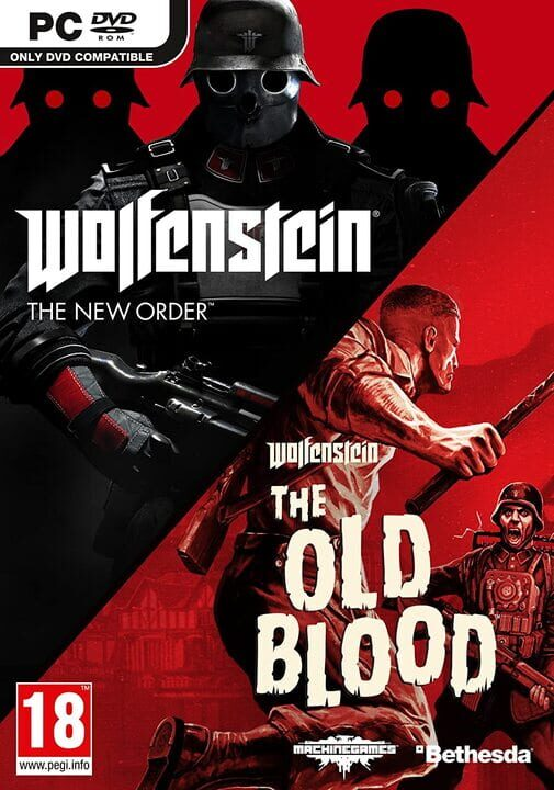 Wolfenstein The New Order and The Old Blood Double Pack Pc Free Game PC Install