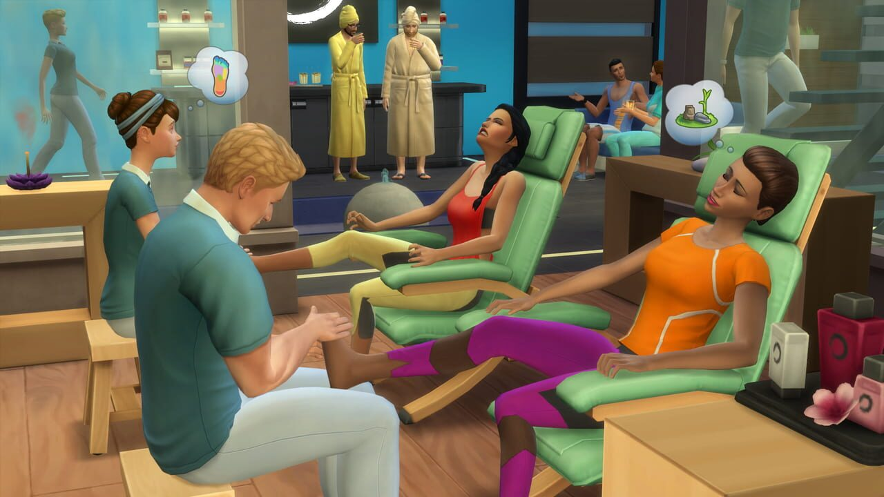 The Sims 4: Spa Day - Game pack download Download