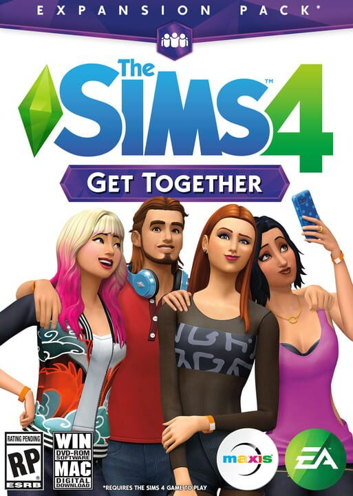 The Sims 4: Get Together - EP02 Edition Pack Download PC Install