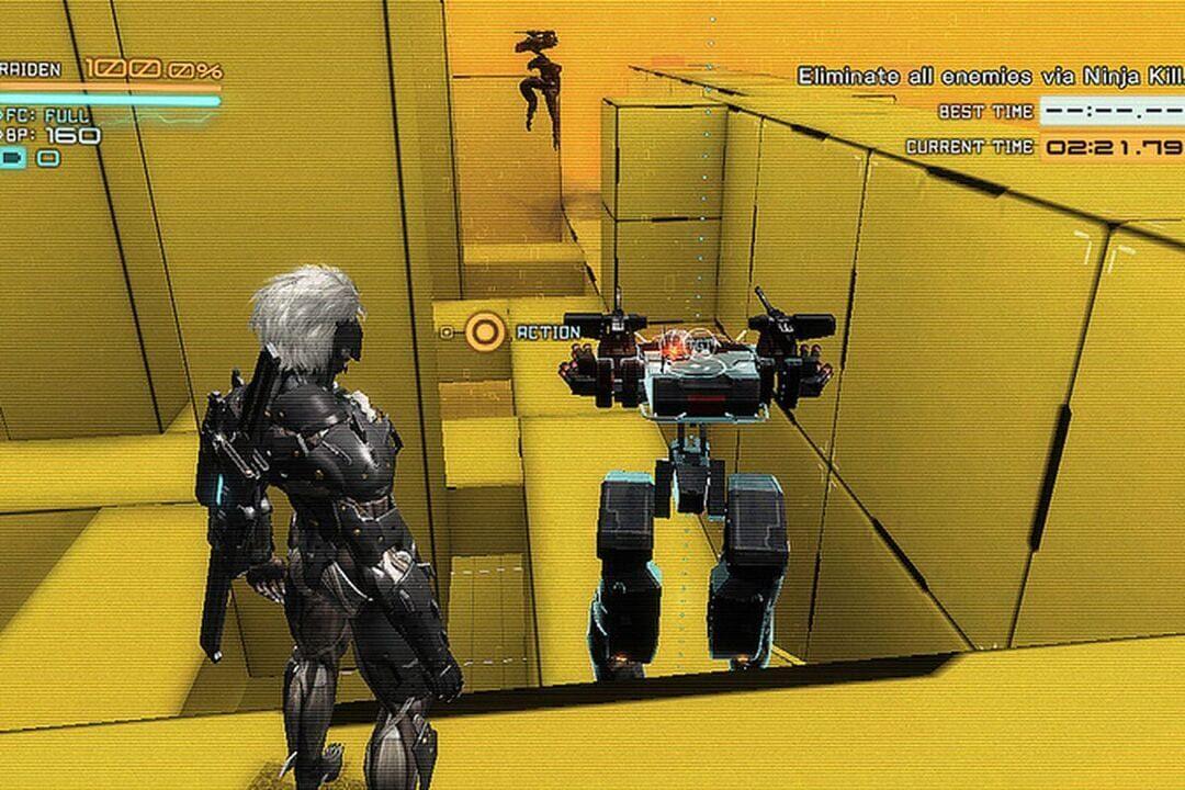 METAL GEAR RISING: REVENGEANCE VR Missions