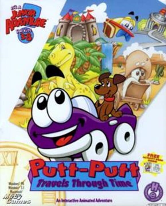 Putt-Putt Travels Through Time Free Download PC Install