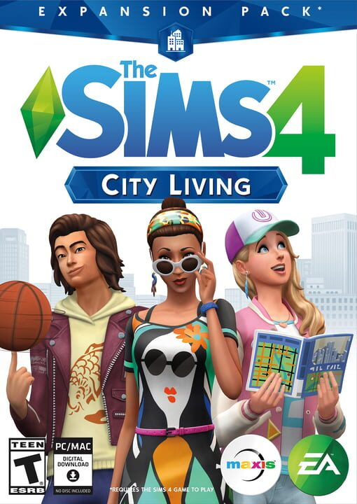 The Sims 4: City Living - EP03 Edition Pack Download PC Install