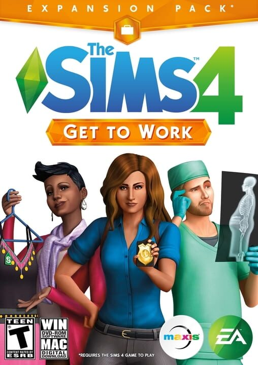 The Sims 4: Get to Work - Edition Pack Download PC Install