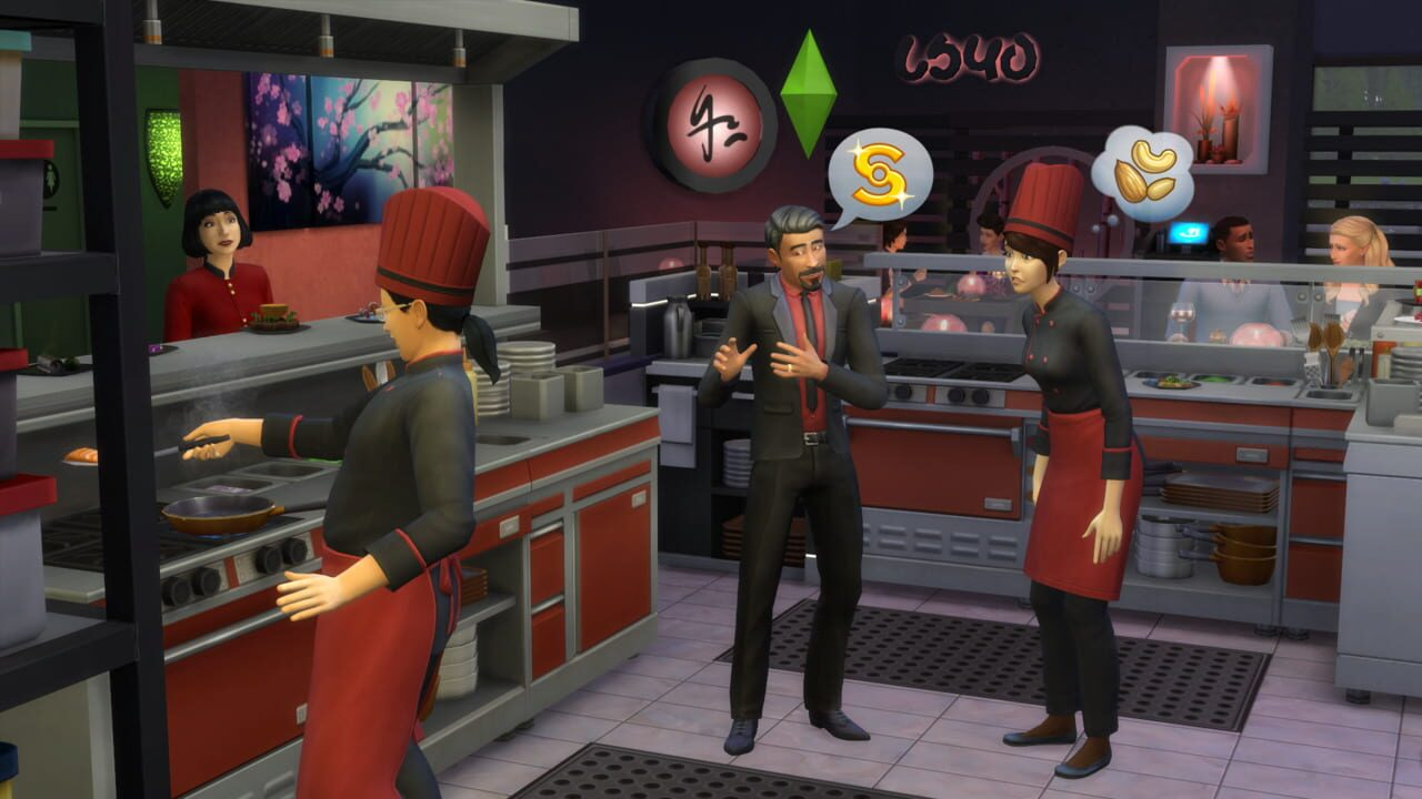The Sims 4 Dine Out - Game pack download Download