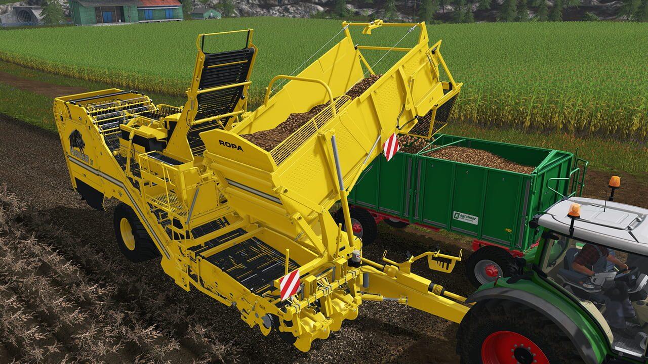 Farming Simulator 17: Ropa Pack