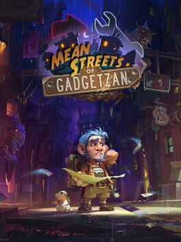 Hearthstone: Mean Streets of Gadgetzan cover