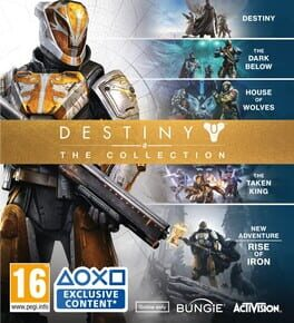 Destiny: The Collection ps4 Cover Art