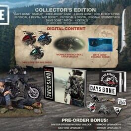Days Gone: Collector's Edition