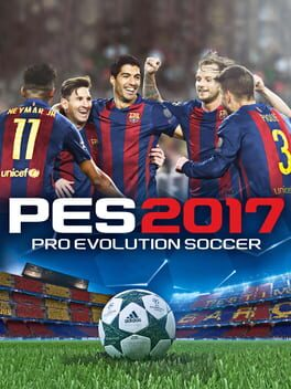 Pro Evolution Soccer 2017 ps4 Cover Art