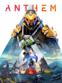Anthem ps4 Cover Art
