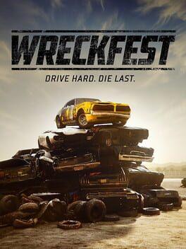 Wreckfest ps4 Cover Art
