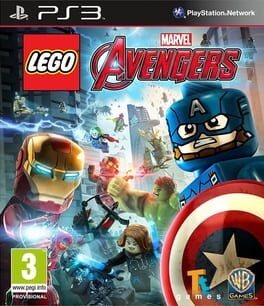 LEGO Marvel's Avengers xbox-one Cover Art