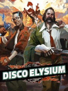 Cover art for Disco Elysium
