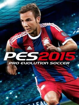 Pro Evolution Soccer 2015 ps4 Cover Art