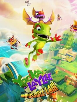 Yooka-Laylee and the Impossible Lair xbox-one Cover Art