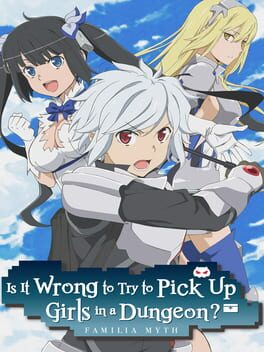 Is It Wrong to Try to Pick Up Girls in a Dungeon? Infinite Combate switch Cover Art