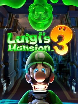Luigi's Mansion 3 switch Cover Art