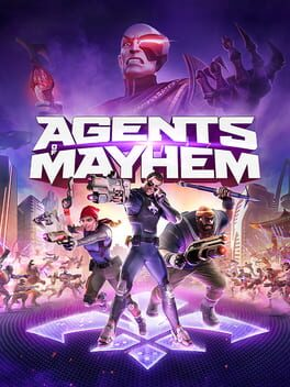 Agents of Mayhem ps4 Cover Art
