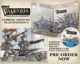 Valkyria Chronicles Remastered Steelbook Edition