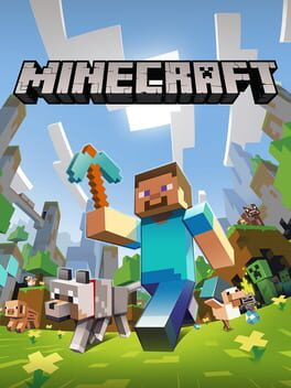 Minecraft ps4 Cover Art