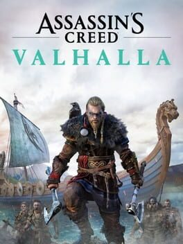 Assassin's Creed Valhalla ps4 Cover Art