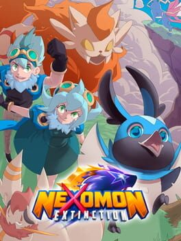 Nexomon: Extinction switch Cover Art