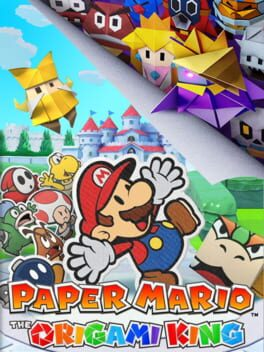Paper Mario: The Origami King switch Cover Art