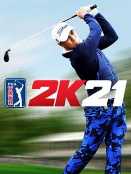 PGA TOUR 2K21 switch Cover Art