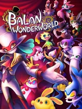 Balan Wonderworld ps4 Cover Art