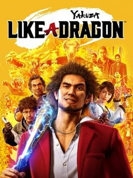 Yakuza: Like a Dragon cover