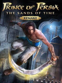 Prince of Persia: The Sands of Time - Remake ps4 Cover Art