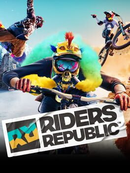 Riders Republic ps4 Cover Art