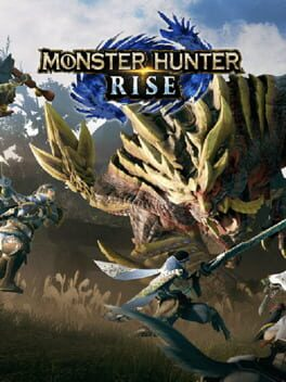 Monster Hunter Rise switch Cover Art